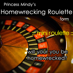 Home-wrecking Roulette Game