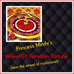 Kinky Fetish Fortune Wheel