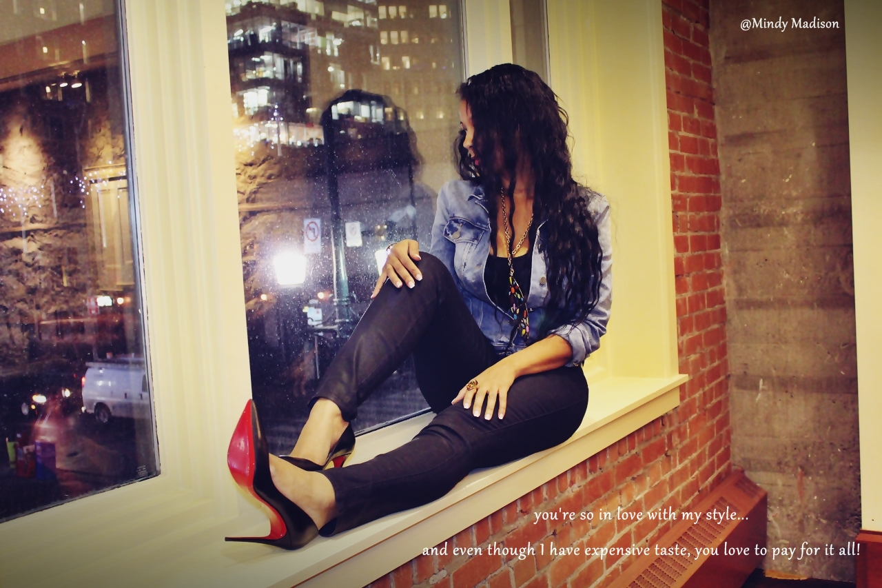 Louboutins at the hyatt pics