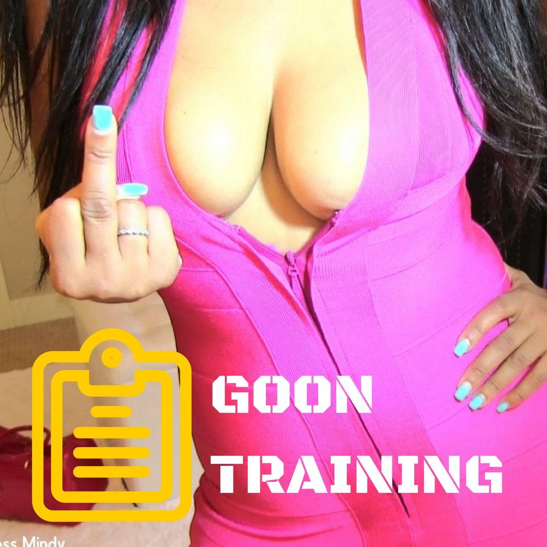 Mindys goon training – week 1